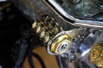 ENDO製イグニッションスイッチカバー<真鍮:税込¥15,180-><アルミ:税込¥14,190->