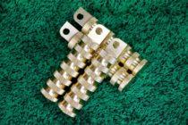 ENDO製折りたたみ式ステップ(ローレット):真鍮<税込¥10,083‐/1本>