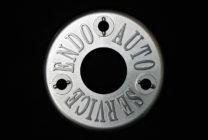 ENDO製クラッチプレッシャープレート(アルミ)<凸ロゴ彫タイプ:税込¥17,490-><プレーンタイプ税込¥12,790->